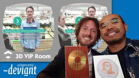 Uitgeverij Deviant wint internationale onderwijsprijzen met vr-apps