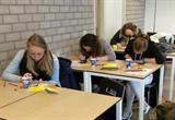 Studenten Welzijn College ROC MN in actie voor Amn