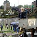Studenten Noorderpoort bezochten voormalig kamp Be