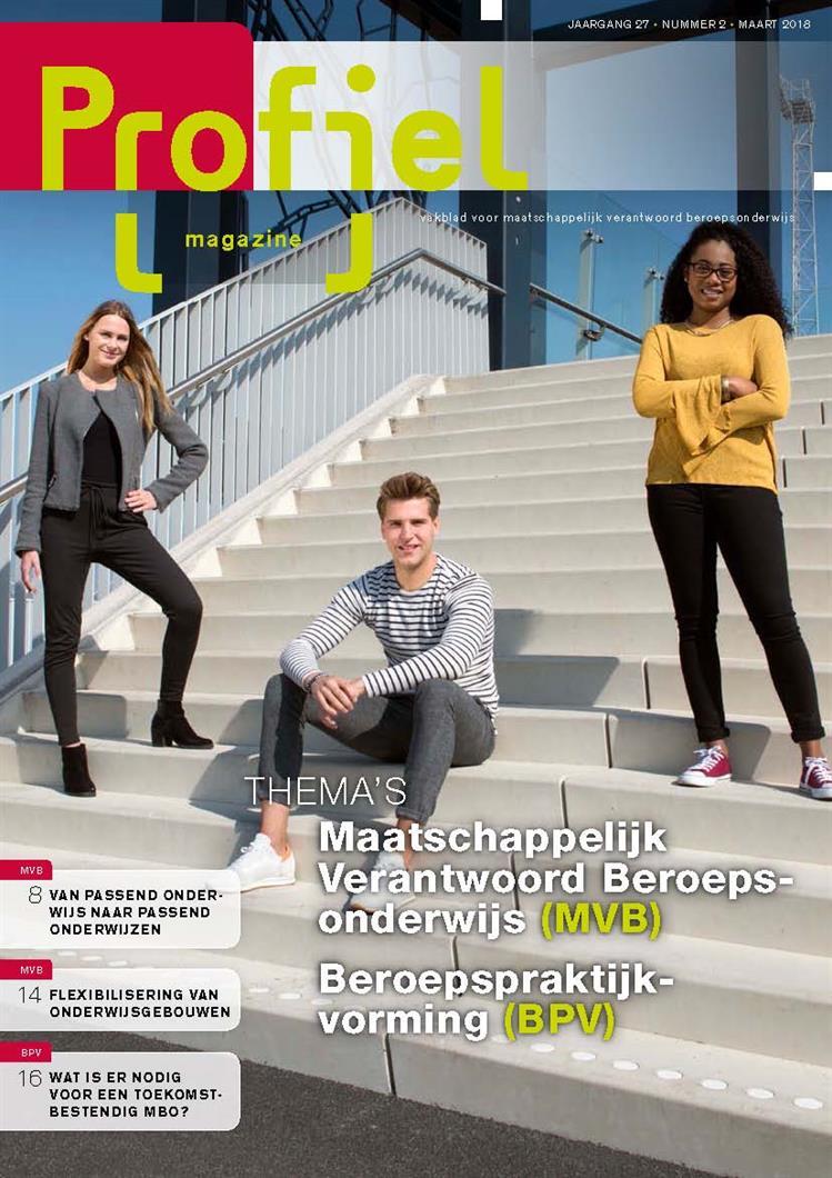Onderwerpen over BPV en MVB in Profiel Magazine maart 2018