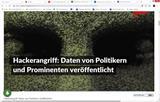 Duitse parlement gehackt - waar blijft het Ministe