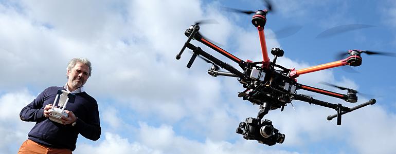 PROFIEL excl.- SBB: Keuzedelen over drones gaan sky-high