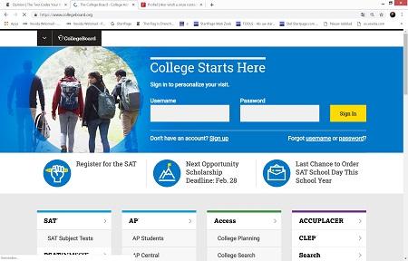 De twee allerbelangrijkste zaken voor een student – volgens de College Board in de VS