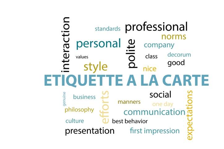 Exclusief – houding, gedrag en omgangsvormen van de student, kortom: etiquette!