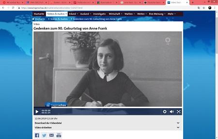 Anne Frank werd in augustus 1944 - 75 jaar geleden - gedeporteerd