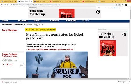 Zweedse scholiere Thunberg (#Fridaysforfuture) zeilt naar VN-klimaattop in New York