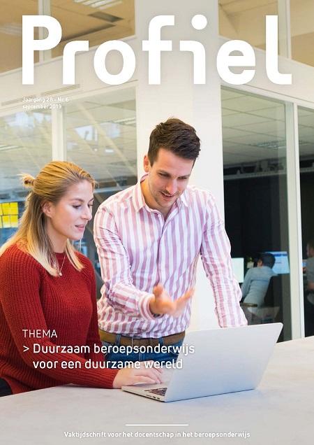 Vaktijdschrift Profiel sept - Duurzaam beroepsonderwijs voor een duurzame wereld