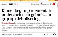 Het WRR-rapport rond digitale ontwrichting toont de laksheid van onze regeringen