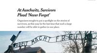 De boodschap van Auschwitz - niemand uitsluiten, niemand achterlaten