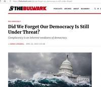 De vrije wereld krimpt in. Is er misschien sprake van 'democracy fatigue'?