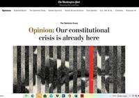 Alle seinen op rood | Een op drie Amerikanen wil een autocratisch bewind